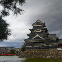 The black crow castle of Matsumoto