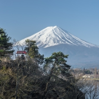 Get the best views of Mount Fuji from Kawaguchiko