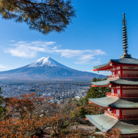 Chureito Pagoda: the most famous view of Mount Fuji