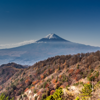 Climb majestic Mount Mitsutoge for perfect views of Mount Fuji