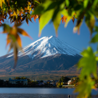 When is the best time to see Mount Fuji?